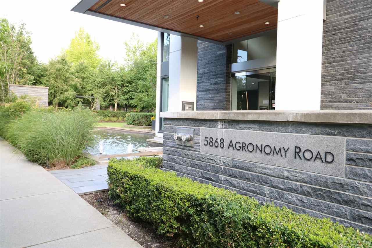 807 5868 AGRONOMY ROAD, Vancouver